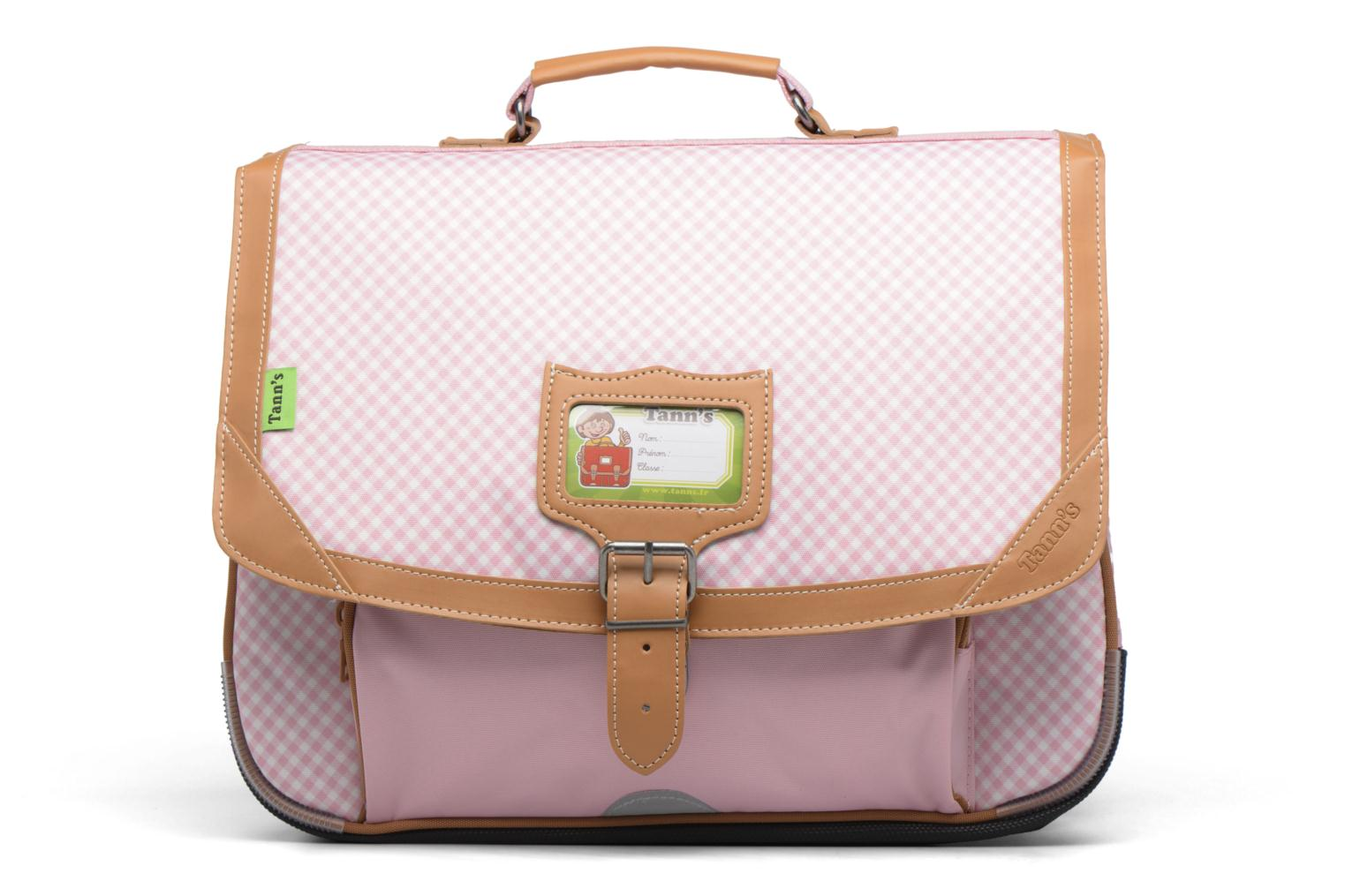 Cartable 38cm Vichy Rose poudré