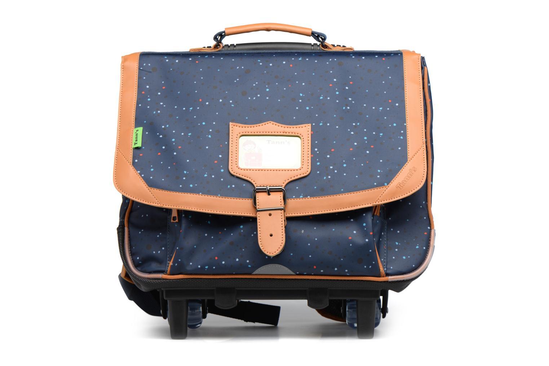 School bags Tann's Cartable 38cm Trolley Galaxy Blue detailed view/ Pair view