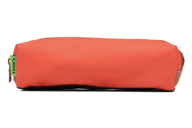 Scolaire Tann's Trousse double Iconic Orange vue détail/paire