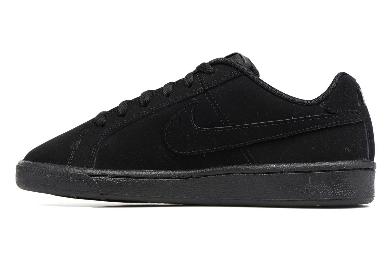 Baskets Nike Nike Court Royale (Gs) Noir vue face