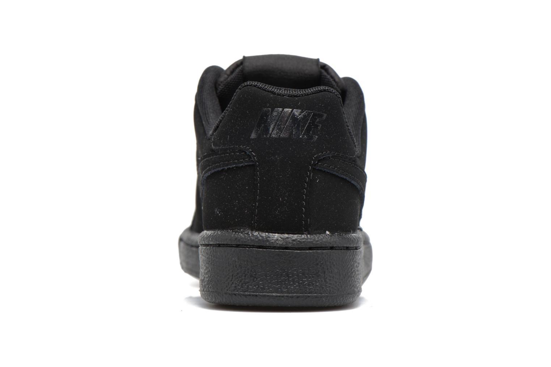 Baskets Nike Nike Court Royale (Gs) Noir vue droite
