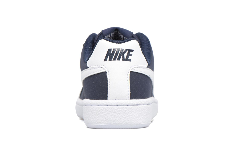 Baskets Nike Nike Court Royale (Gs) Bleu vue droite