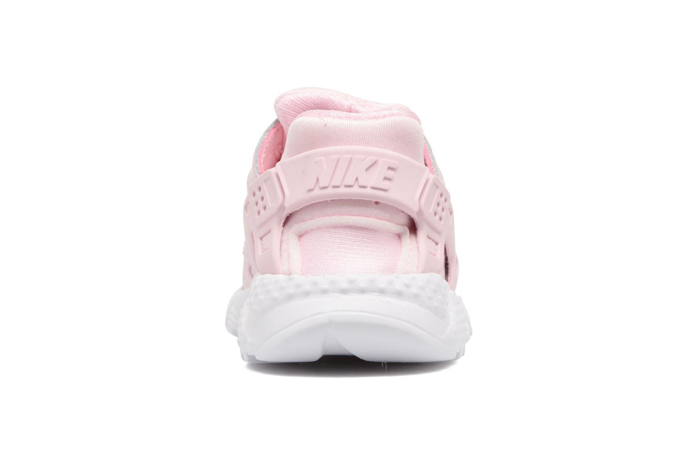 Baskets Nike Nike Huarache Run Se (Td) Rose vue droite