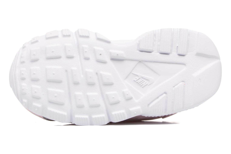 Baskets Nike Nike Huarache Run Se (Td) Rose vue haut