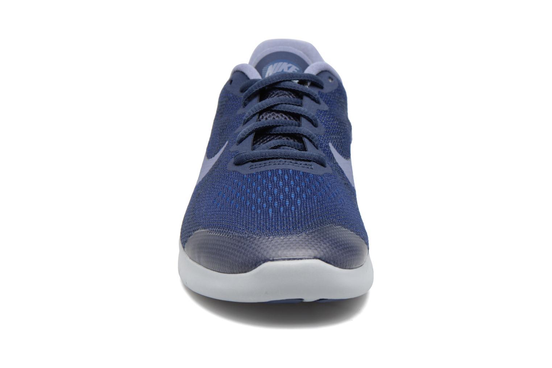 Chaussures de sport Nike Nike Free Rn 2017 (Gs) Bleu vue portées chaussures