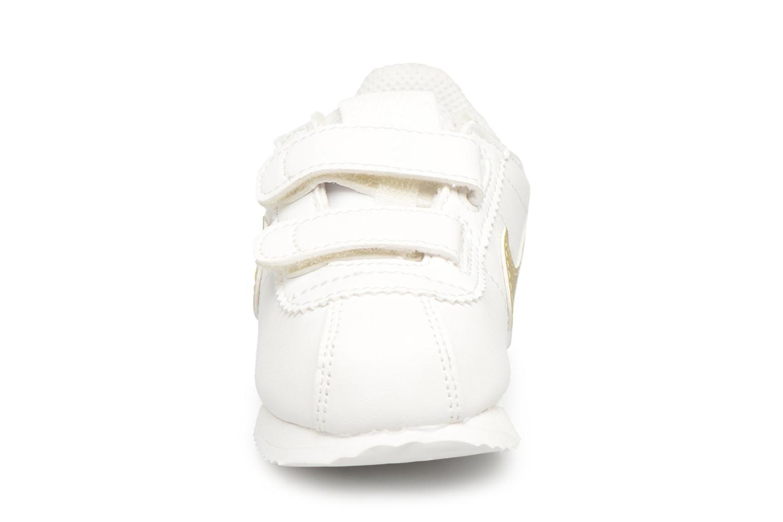 Sneakers Nike Cortez Basic Sl (Tdv) Bianco modello indossato