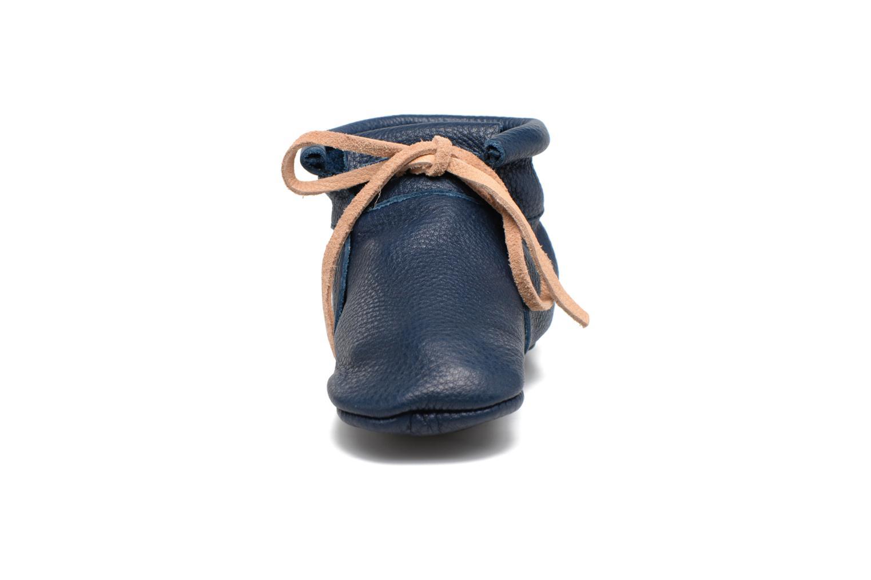 Chaussons Hippie Ya Booties Bleu vue portées chaussures