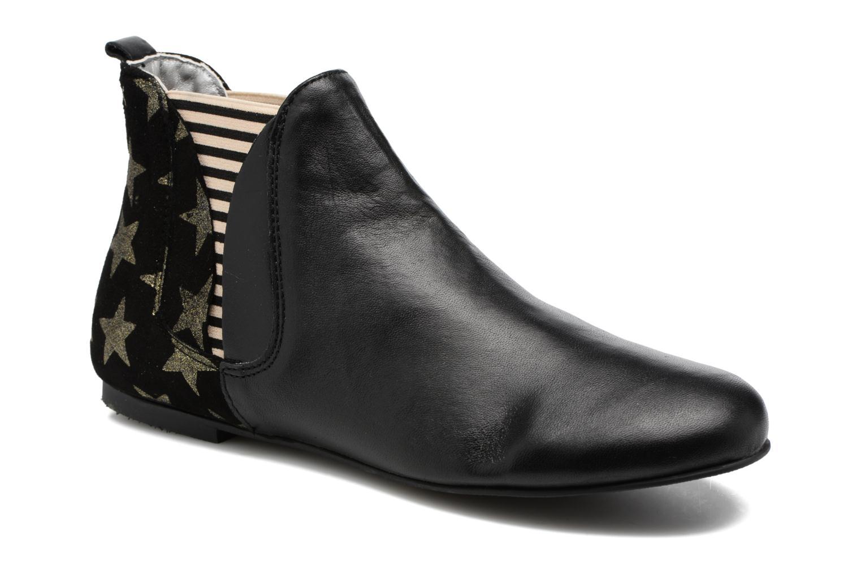 Bottines et boots Ippon Vintage Patch Sky Noir vue détail/paire