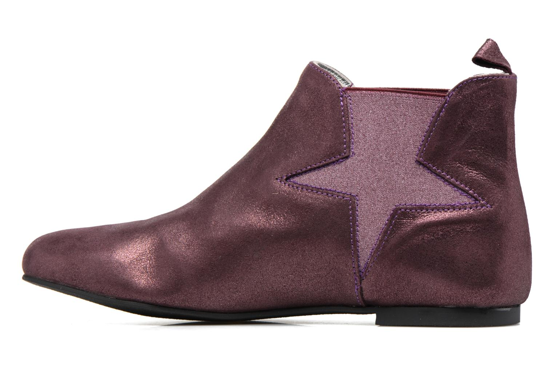 Bottines et boots Ippon Vintage Easy Fun Violet vue face