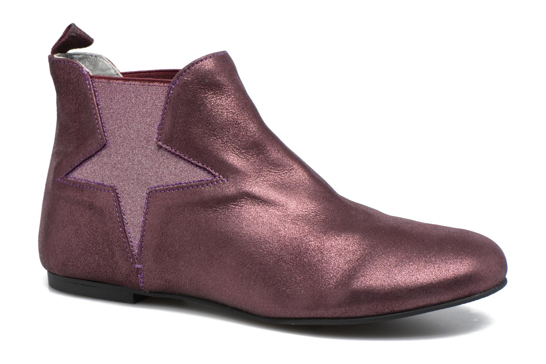 Bottines et boots Ippon Vintage Easy Fun Violet vue détail/paire