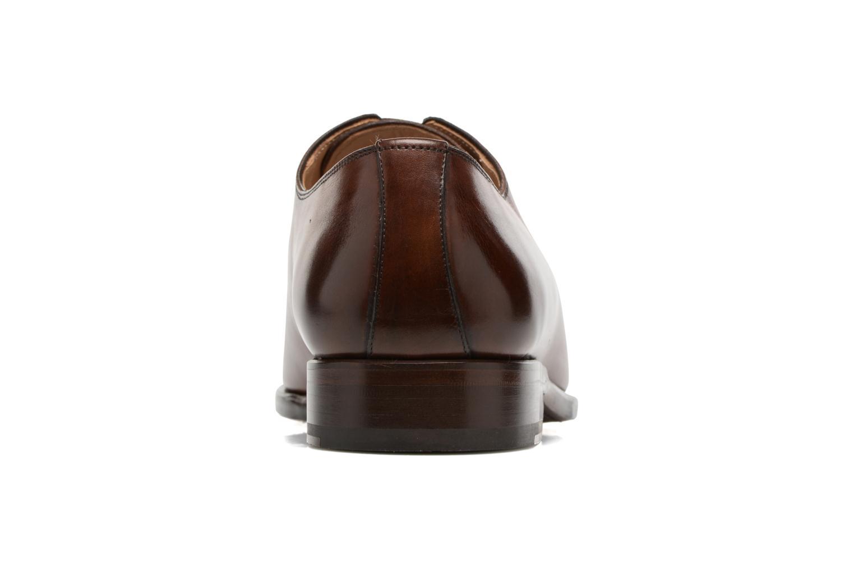 Chaussures à lacets Marvin&Co Luxe Waller - Cousu Goodyear Marron vue droite