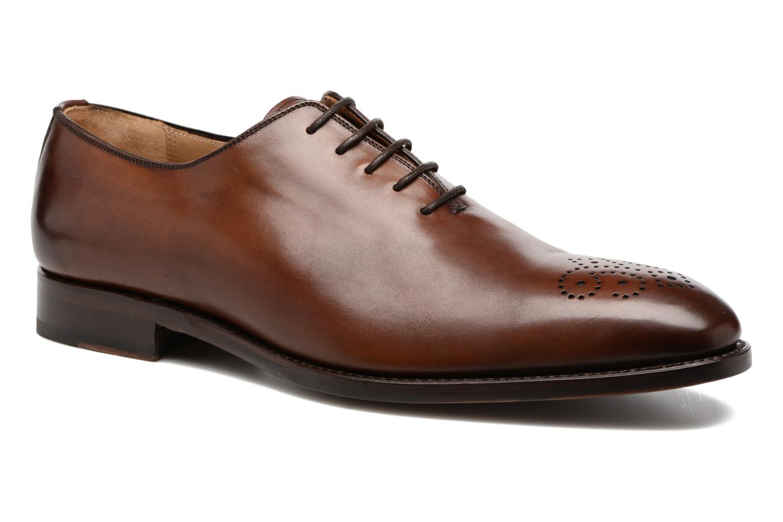 Veterschoenen Marvin&Co Luxe Waller - Cousu Goodyear Bruin detail