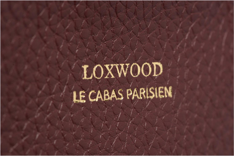 Sacs à main Loxwood Cabas Shopper Porté épaule Bordeaux vue gauche