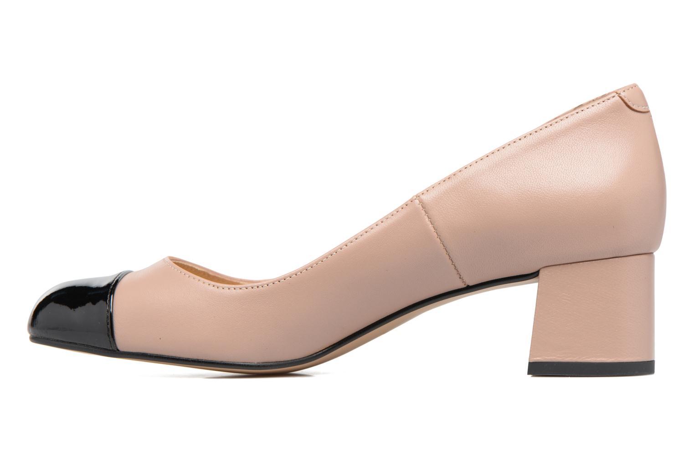 High heels Georgia Rose Sabou Beige front view