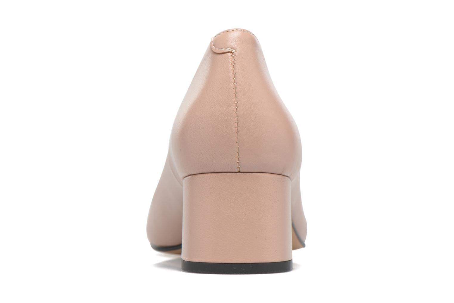 High heels Georgia Rose Sabou Beige view from the right