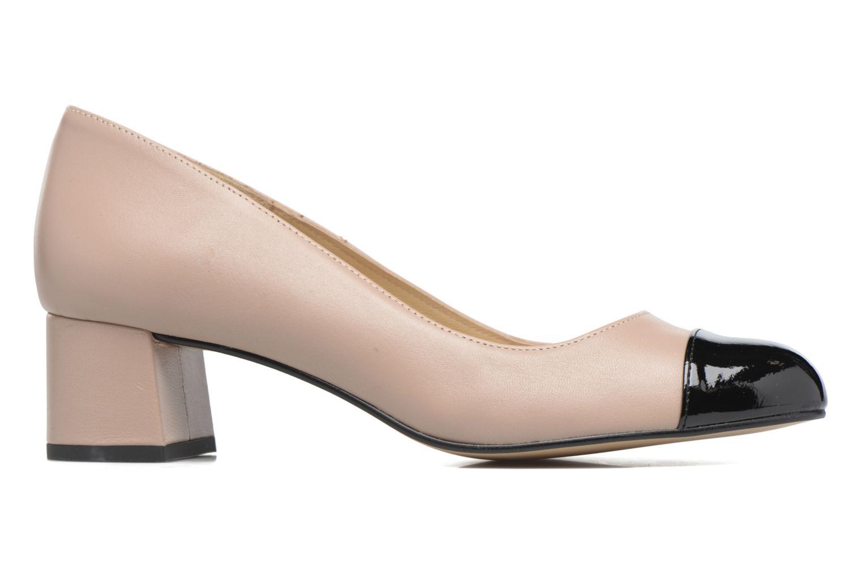 High heels Georgia Rose Sabou Beige back view