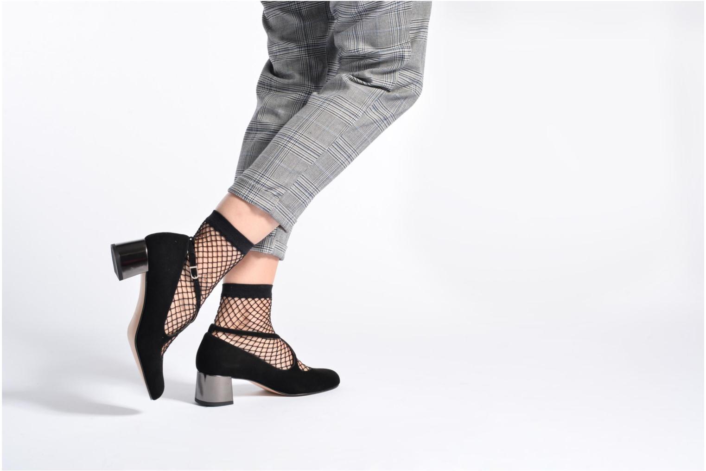 Zapatos de tacón Georgia Rose Sully Gris vista de abajo