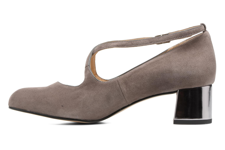 Zapatos de tacón Georgia Rose Sully Gris vista de frente