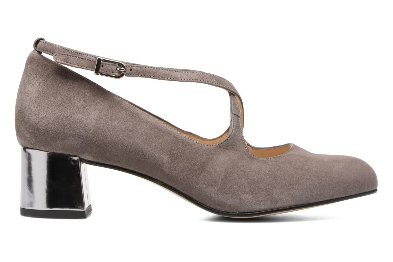 Zapatos de tacón Georgia Rose Sully Gris vistra trasera