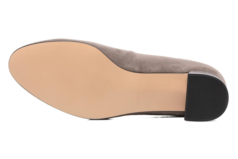 Zapatos de tacón Georgia Rose Sully Gris vista de arriba