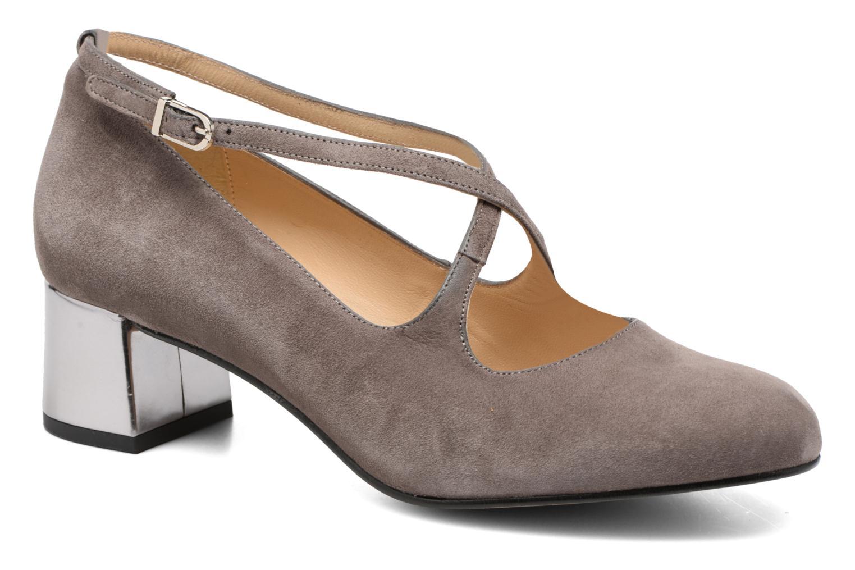 Zapatos de tacón Georgia Rose Sully Gris vista de detalle / par
