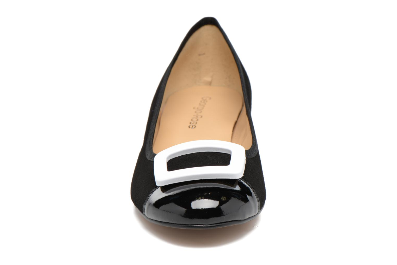 Ballerines Georgia Rose Sautoir Noir vue portées chaussures