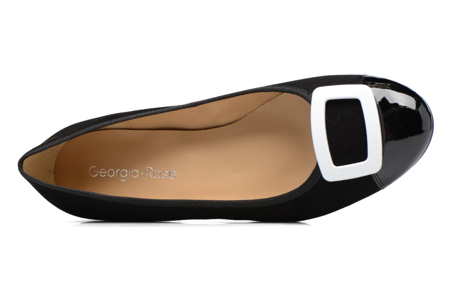 Ballet pumps Georgia Rose Sautoir Black view from the left