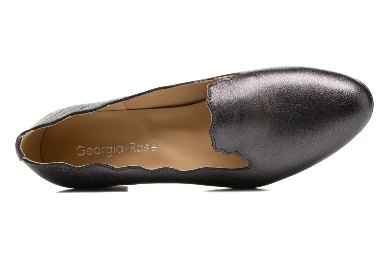 Socroca cuir métalisé noir