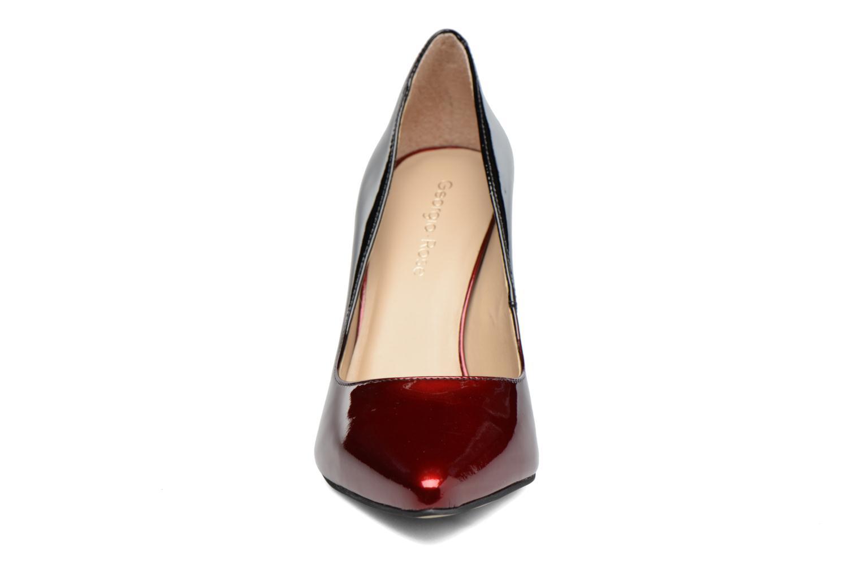 Zapatos de tacón Georgia Rose Glady Vino vista del modelo