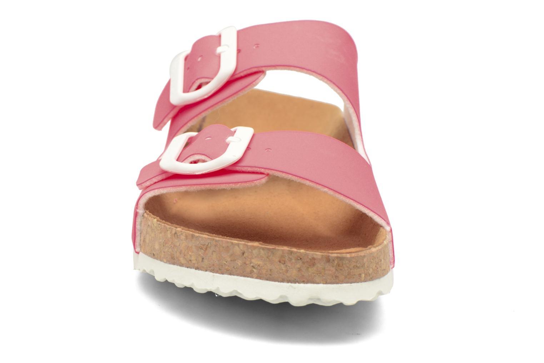 Mules et sabots El Naturalista Waraji NE60 Rose vue portées chaussures