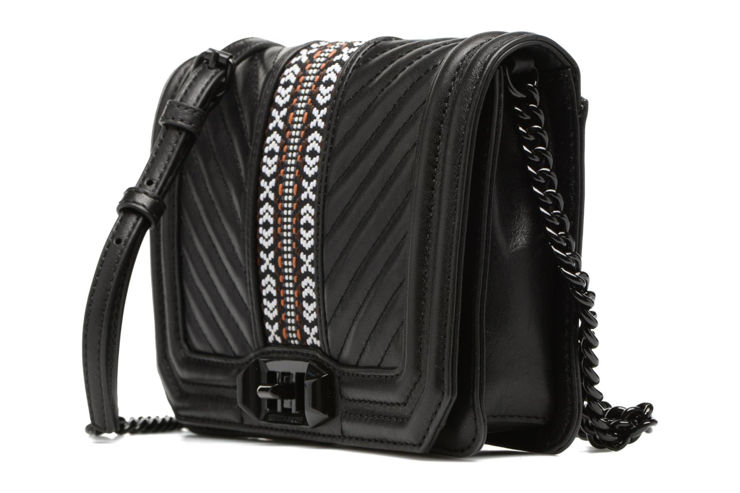 Jacquard Small Love Crossbody 001 black