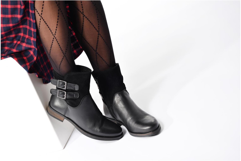 Bottines et boots Georgia Rose Cefoure Marron vue bas / vue portée sac