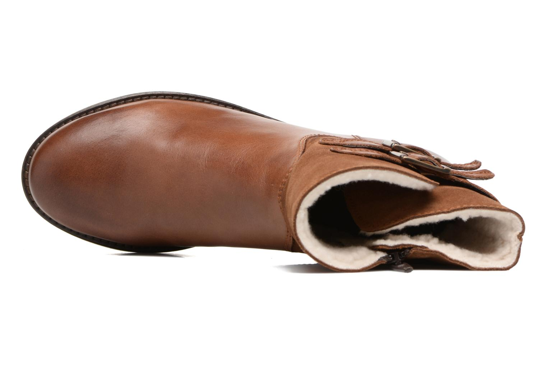 Bottines et boots Georgia Rose Cefoure Marron vue gauche