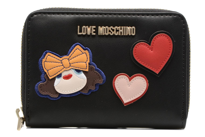 Petite Maroquinerie Love Moschino Portefeuille Girls & Heart Noir vue détail/paire