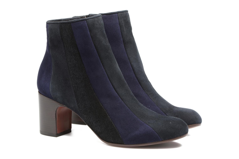 Bottines et boots Chie Mihara Fantia Bleu vue 3/4
