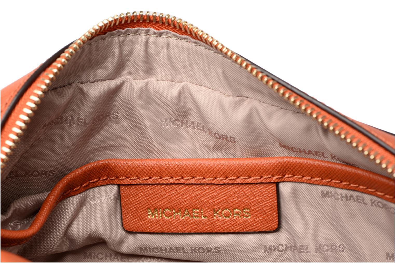 Handtassen Michael Michael Kors LG EW Crossbody Oranje achterkant