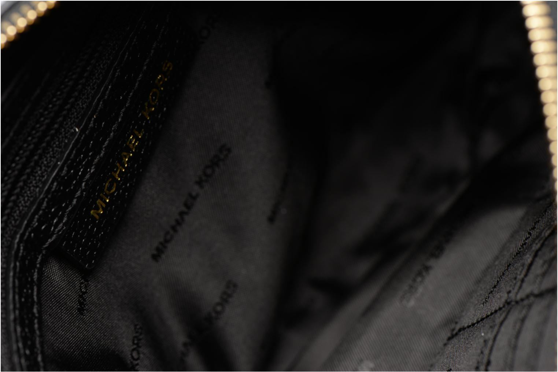 Bolsos de mano Michael Michael Kors LG Snap Pocket X body Negro vistra trasera