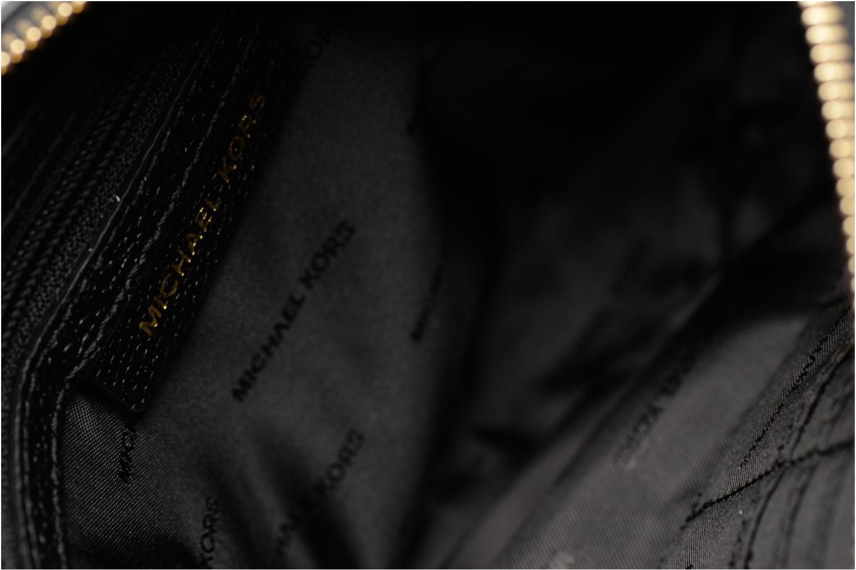 Sacs à main Michael Michael Kors LG Snap Pocket X body Noir vue derrière