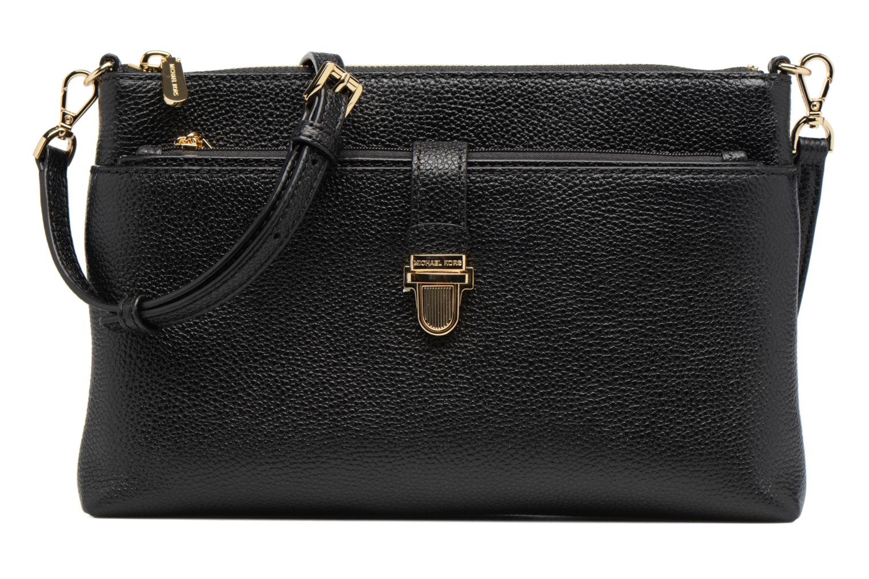Sacs à main Michael Michael Kors LG Snap Pocket X body Noir vue détail/paire
