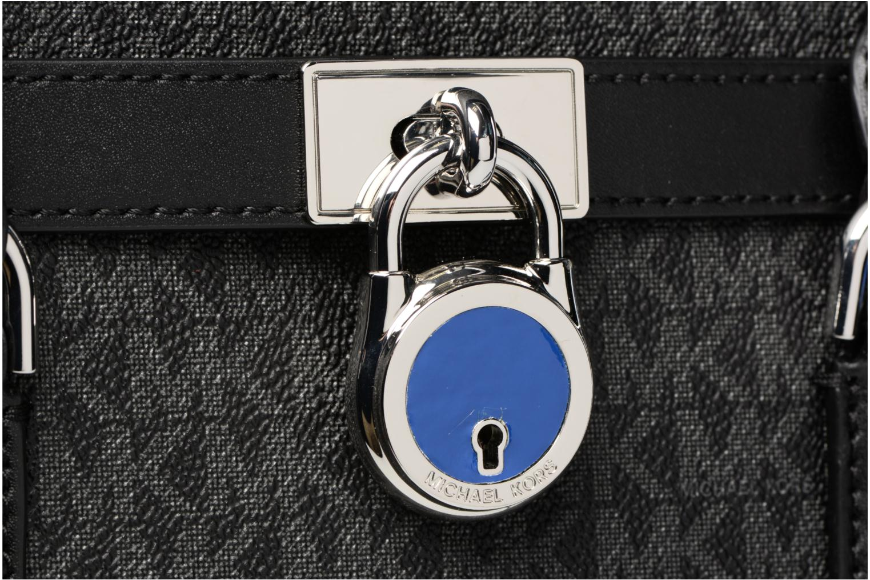 Bolsos de mano Michael Michael Kors Hamilton LG EW Stachel Negro vista lateral izquierda