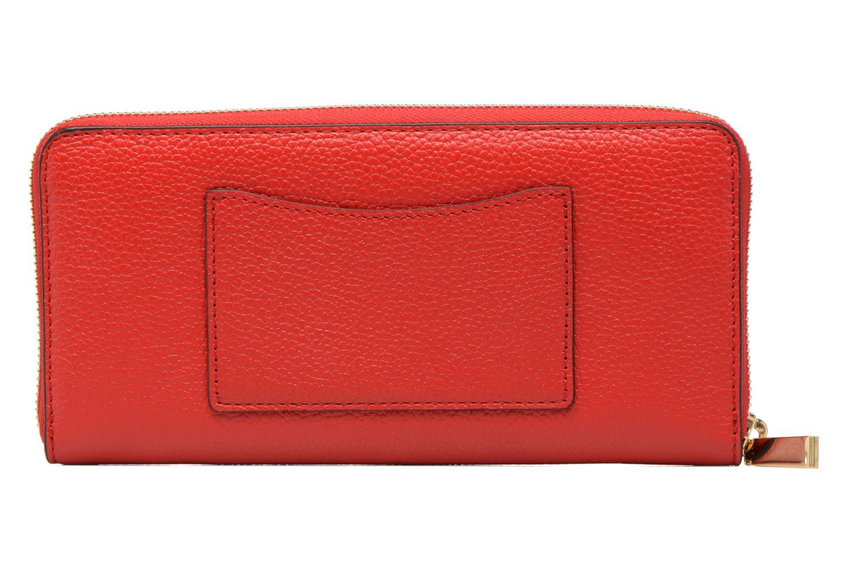 Petite Maroquinerie Michael Michael Kors Mercer Pocket ZA Continental Rouge vue face