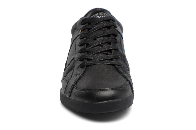 Baskets Levi's Turlock Oxford Noir vue portées chaussures
