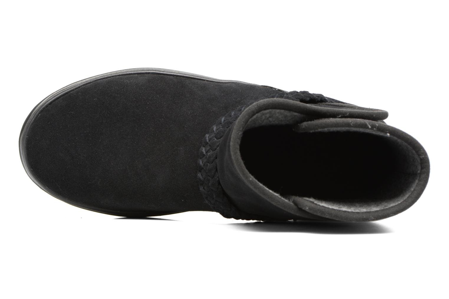 Crocs W Point Bootie Black Suede Lodge qw0A8Cqz