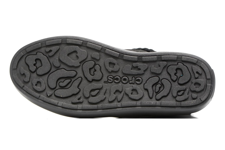 Bottines et boots Crocs Lodge Point Suede Bootie W Noir vue haut