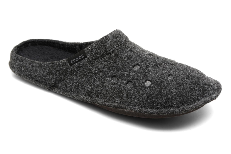Chaussons Crocs Classic Slipper Noir vue détail/paire