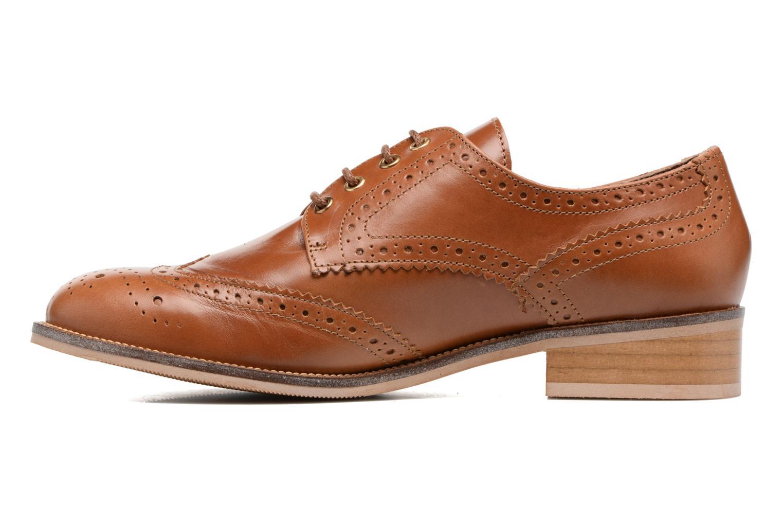 Chaussures à lacets Georgia Rose EMY Marron vue face