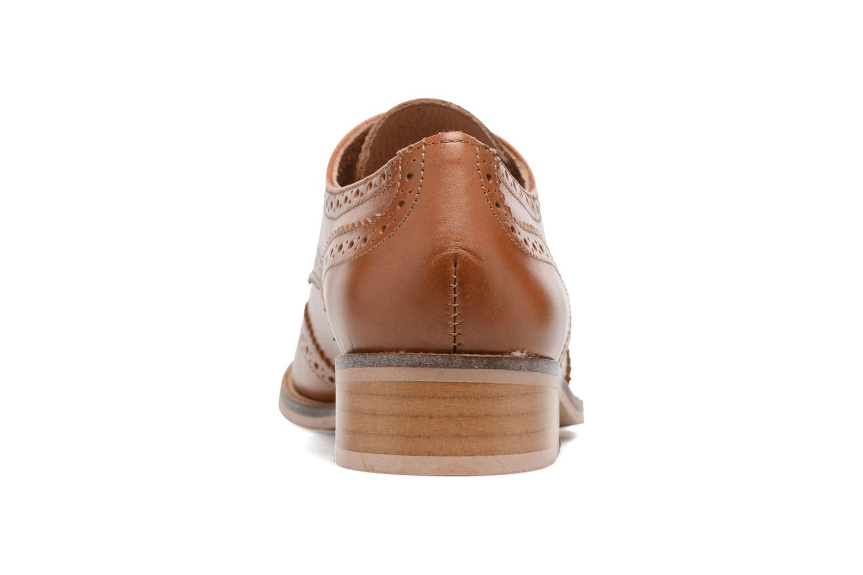 Chaussures à lacets Georgia Rose EMY Marron vue droite