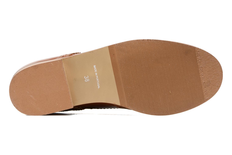 Chaussures à lacets Georgia Rose EMY Marron vue haut