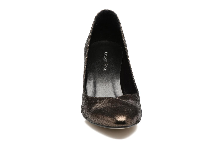 Escarpins Georgia Rose ECLAT Or et bronze vue portées chaussures