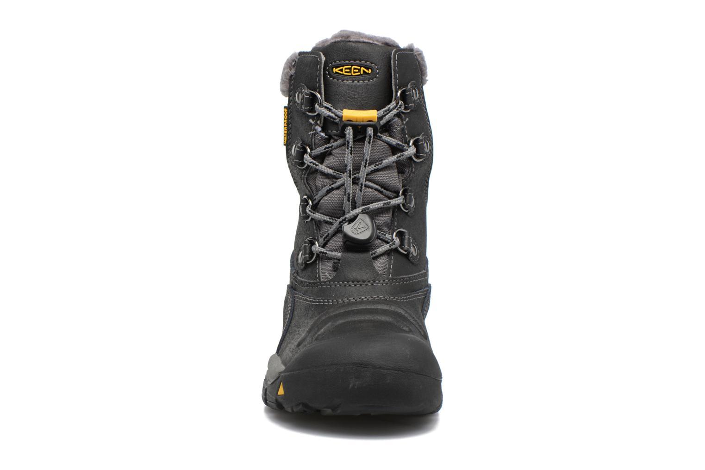 Chaussures de sport Keen Basin WP Noir vue portées chaussures
